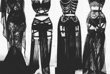 goth, dark, emo, ecc, ecc, ecc...