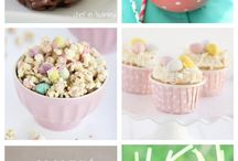 Spring Desserts and Candies