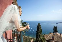 A wedding in Taormina / Stunning views of a Medieval Town