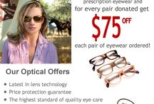 Optical Center / This board has a collection of our monthly Optical Center promotions.