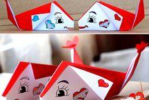 Origami / Vikningar av olika slag