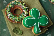 St. Patrick's Day, Doughnut Style / Celebrate St. Patty's Day the sweetest way possible. Enjoy our Shamrock doughnut and our festive Chocolate Iced doughnut with green sprinkles. / by Krispy Kreme