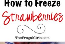 Freezing and canning