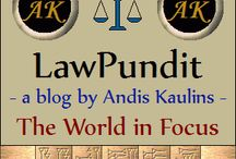 Andis Kaulins Blogs / by Andis Kaulins