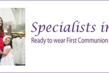 Ready to Wear Communion Dresses / Ready to Wear Communion Dresses - Communnion Dresses at department store prices- Visit our Communion Dress Shop to try on a range of Communion dresses to find the perfect Communion Dress for your little girl -NO APPOINTMENT required