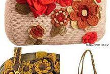 Crocheted bags- Genti crosetate