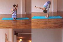 Ejercicios yoga y