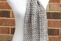 Crochet scarfs, cowls and neckwarmers
