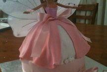 doll cakes- Barbie.