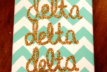 Tri Delta!!!! ΔΔΔ / by Lauren Pittak