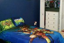 Ninja turtle room ideas