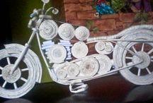 motory papierowe