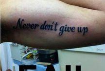 ewwww tattoos