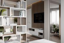 salon +sypialnia