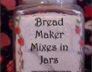 Bread maker mixers