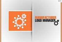 Manufacturer Brand logo / Now integrate the brand logo of your products seamlessly and in a hassle free manner with the help of the Manufacturer Brand logo Extension.