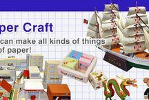 paper craft/papieren bouwmodelen
