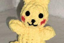 picachu loom knit video