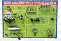 Trainer Engine Management System Toyota Kijang 7K EFI / Trainer Engine Management System Toyota Kijang 7K EFI
