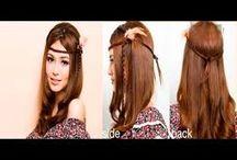 Peinados simples y cute