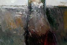 Figurative Abstract Paintings