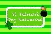 S T • P A T R I C K ' S • D A Y / St. Patrick's Day Resources  / by TeachersPayTeachers