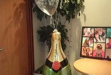 Engagement balloon Centerpieces