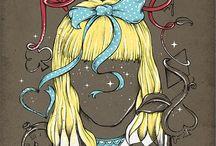 Alice / http://carrollsday.wordpress.com l https://www.facebook.com/carrollsday / by Ana Rosa Domingues
