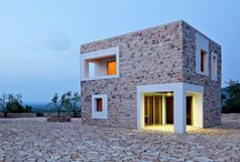natural stone house