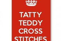Tatty Teddy cross stitches
