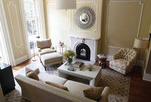 Garden Street Brownstone / Turn of the century brownstone renovation. Elegant front sitting room re-do.