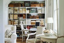 Built-Ins & Bookshelves / Make the most of bookshelves and built-ins with fabulous accessory arrangements.