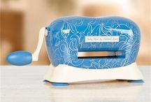 Tattered Lace Baby Blue Die Cutting Machine / The Tattered Lace Baby Blue Die Cutting Machine is here! This compact machine is so lightweight making it perfect for travel and kids. Great for beginners and advanced crafters, the Baby Blue will take your DIY and paper projects to the next level.