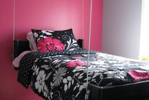 Bed and decor / Love it