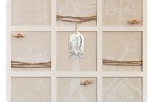 Memo Boards / Our assortment of Bulletin boards are vintage inspired and beautifully distressed for a shabby chic look and feel