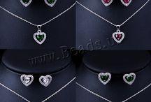 bijoux ensemble / collier ,boucle d'oreille ,bague ...