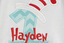 Cat in the Hat Birthday Shirts