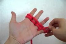 pletení na ruce