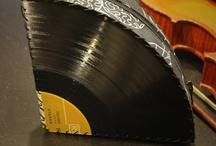 Vinyl upcycling / Taschen Und andere