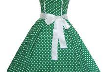 rutig klänning