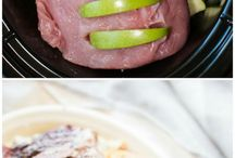 porkloin n apple slow cook