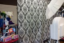 backdrops / pick your backdrop for open air photo booth or photo station