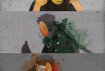 Naruto / Anime fotografías animadas