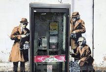 street art. banksy