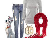 Disney Outfits / En blandning av olika stilar! Som en mini hand bok för kläd idéer