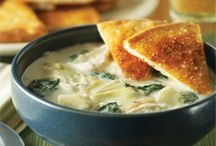 Food-Soups / by Cory Ring