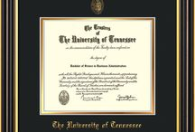 University of Tennessee Diploma Frames & Graduation Gifts / Official UT Diploma frames. Exquisitely crafted to exacting specifications for the UT diploma. Custom framed using hardwood mouldings and all archival materials, including UV glass to prevent fading from sunlight AND indoor incandescent lighting! Each frame exceeds Library of Congress standards for document preservation and includes a 100% lifetime guarantee, ensuring that a hard-earned achievement will be honored and protected for generations. Makes a thoughtful and unique graduation gift!
