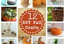 Fall Crafts and DIY / Fall craft projects and DIY home decor and craft projects. Everything from Halloween stuff to Thanksgiving.