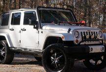 Jacked Jeep