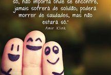 Aos amigos...!